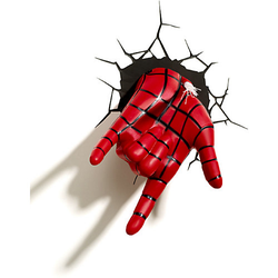 Lampe Marvel Spiderman Hand 3D