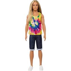 Mattel® Anziehpuppe Ken Fashionistas Puppe mit langem blonden Haar