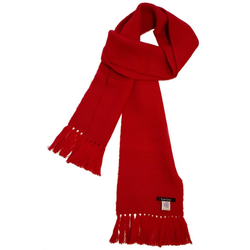 Posh Gear Wollschal Alpaka Schal Calido aus 100% Alpakawolle rot