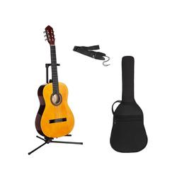 Konzertgitarre Konzertgitarren-Set 1/2 1/2 natur
