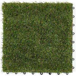 misento Terrassenfliesen Kunstrasenfliese Klickfliese aus kunstrasen 30 x 30 cm - 0,9m², 10 St.