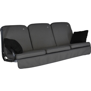 Angerer Hollywoodschaukel Auflage Comfort Style Grau
