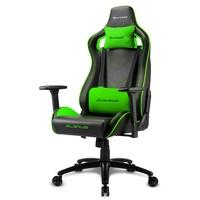 Sharkoon Elbrus 2 Gaming Chair schwarz / grün