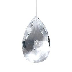Drachenträne 6 3 cm  Kristall