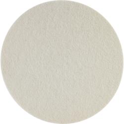 SONAX FilzPad, Ø 127 mm, Hochwertiges stark abrasives FilzPad zur Verarbeitung von Schleifpasten, 1 Packung = 2 Stück