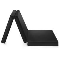 BADENIA Kaltschaummatratze »Gästematratze 3teilig«, Badenia, 8 cm hoch, Raumgewicht: 25, schwarz