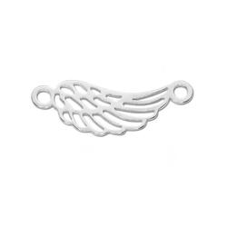Adelia´s Kettenanhänger Engelsflügel Anhänger 925 Silber