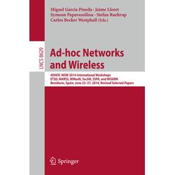 Ad-hoc Networks and Wireless als Buch von