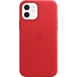 Apple Leder Case (iPhone 12, iPhone 12 Pro), Smartphone Hülle, Rot