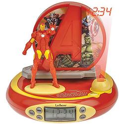The Avengers Iron Man Radiowecker mit Projektion gelb/rot