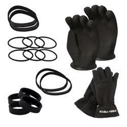 Scubaforce Thenar Dry Glove Set - mit XL Ringdurchmesser - XXL Handschuh