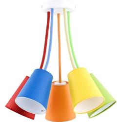 Licht-Erlebnisse Deckenleuchte BANTA Deckenleuchte Bunt flexible Arme stylisch Kinderzimmer Lampe