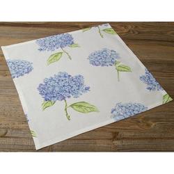 Stoffserviette, Textil Stoff Serviette Hortensien Blüten, matches21 HOME & HOBBY