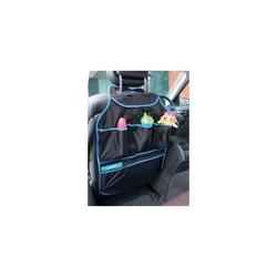 Reer Auto-Rückenlehnentasche Auto Rückenlehnentasche, schwarz/blau