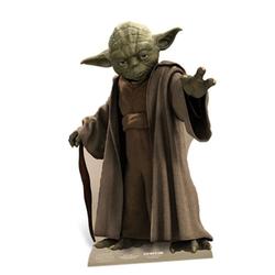 empireposter Dekofigur Star Wars - Yoda - Pappaufsteller in Lebensgrösse 76 cm, 2D Pappfigur in Originalgröße