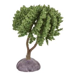HobbyFun Dekofigur Baum, 9 cm x 4,8 cm grün