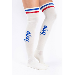 EIVY Cheerleader Overknee Wool Socks Black, 39-41
