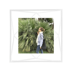 Umbra Bilderrahmen Prisma Weiß 10 x 10 cm