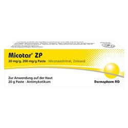 MICOTAR ZP Paste 20 g