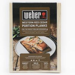 Weber Räucherbretter Zedernholz Braun