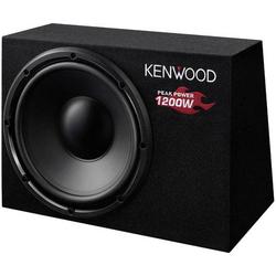 Kenwood KSC-W1200B Auto-Subwoofer passiv 1200W