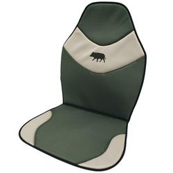 Sitzschoner mit Saumotiv