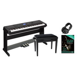 Yamaha DGX-660B Portable Piano Set schwarz