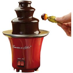 Mini-Schokoladen-Brunnen
