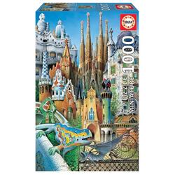 Educa - Gaudi 1000 Teile Miniature Puzzle