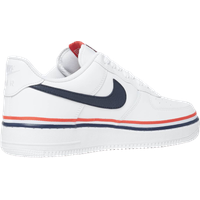 Nike Men's Air Force 1 '07 LV8 white/obsidian/habanero red 45