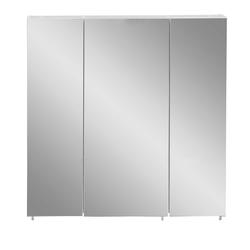 3 türiger Spiegelschrank in Weiß Made in Germany