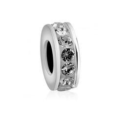 Nenalina Bead Bead Basic Kristalle 925 Silber