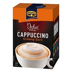 Krüger Creme Cappuccino 10 x 15g
