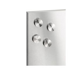 BLOMUS Magnet Magnete MURO 2.5 cm - 4er Set mit Kratzschutz
