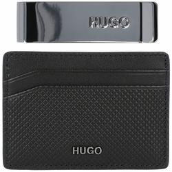 Hugo GBHM S Kreditkartenetui Leder 10 cm black