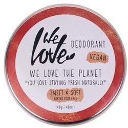 We Love The Planet Natürliche Deodorant Creme Sweet & Soft 48 g