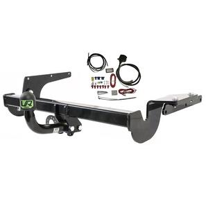 Feste Starr Anhängerkupplung mit 13p C2 E-Satz für Volkswagen VW Golf V-VI Variant Kombi 4MOTION 4X4 2007-2013 UT430COR55ZFM/WU403DE1