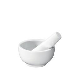 Küchenprofi Mörser Mörser Porzellan, (2, 2-tlg), Robust