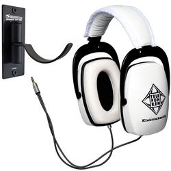 Telefunken Telefunken THP-29 Weiss + Wandhalter DJ-Kopfhörer