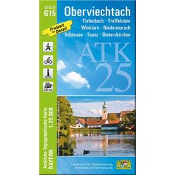 Oberviechtach 1 : 25 000