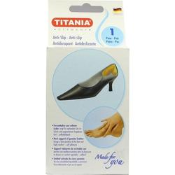 Anti Slip Fersenhalter aus Leder Titania