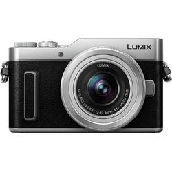 Lumix Panasonic DC-GX880KEG-S Systemkamera (LUMIX G VARIO 12-32mm/F3,5-5,6 ASPH. /MEGA O.I.S., 16 MP, WLAN (Wi-Fi)