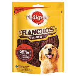 (29,88 EUR/kg) Pedigree Ranchos Rind 80 g - 7 Stück