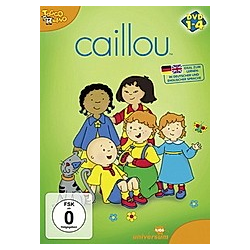 Caillou Box (DVD 1-4) - DVD  Filme