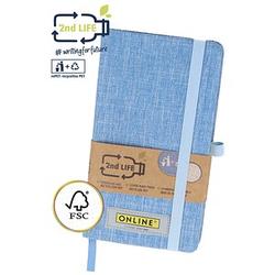 ONLINE® Notizbuch 2nd Life DIN A6 punktraster