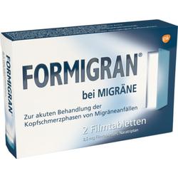 FORMIGRAN bei MIGRÄNE