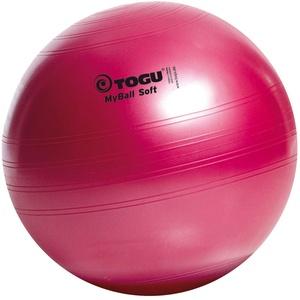 Togu Gymnastikball My-Ball Soft, rubinrot, 45 cm, 418452
