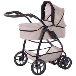 Knorrtoys® Puppenwagen Coco - Beige