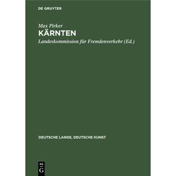 Kärnten als Buch von Max Pirker