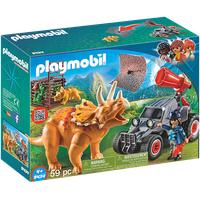 Playmobil The Explorers Offroader mit Dino-Fangnetz (9434)
